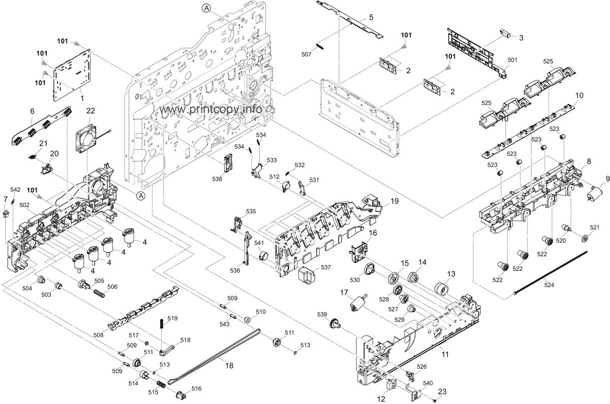 Parts Catalog > Kyocera > TASKalfa 350ci > page 13