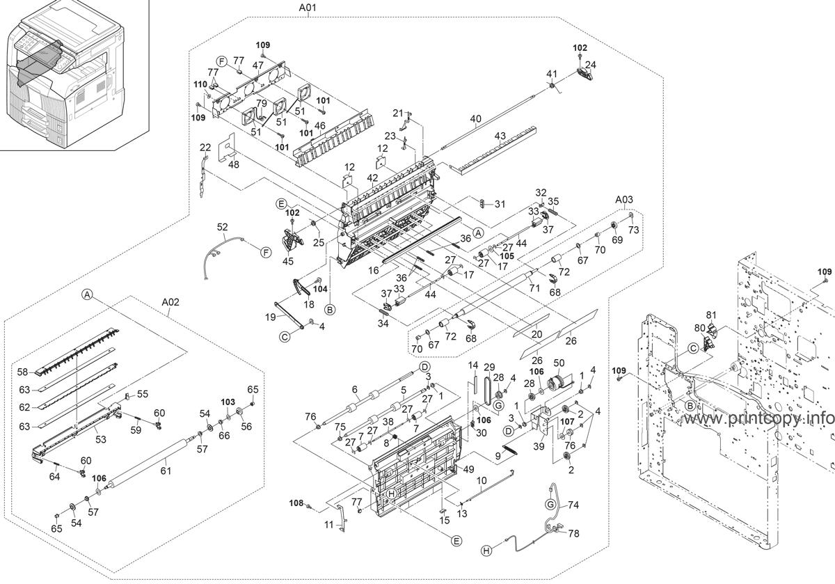 Parts Catalog > Kyocera > TASKalfa 420i > page 7