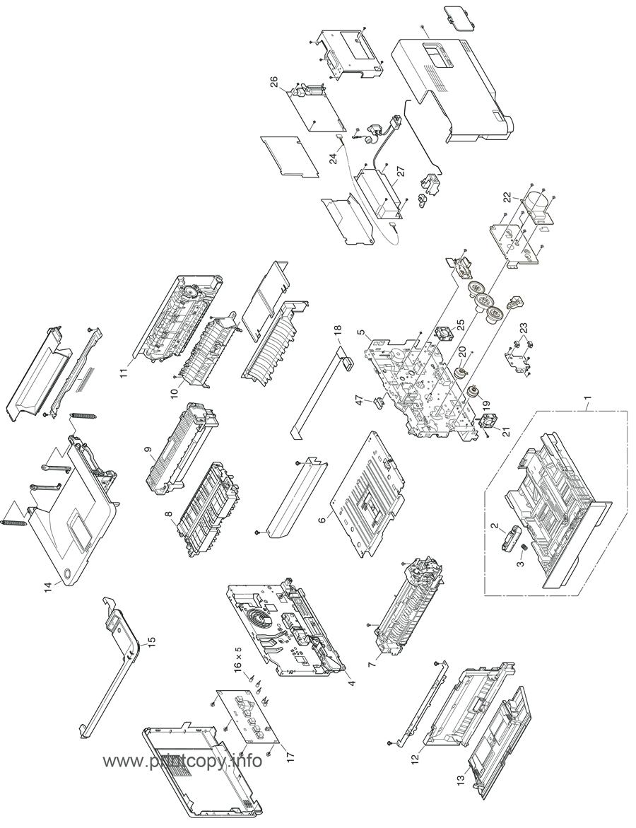 Printer Parts 5 Pieces//lot Upper fuser Roller for OKI B431 B491 B432 B521 B411 B411dn B412dn B431dn B432dn B512dn 411 412 431 432 512