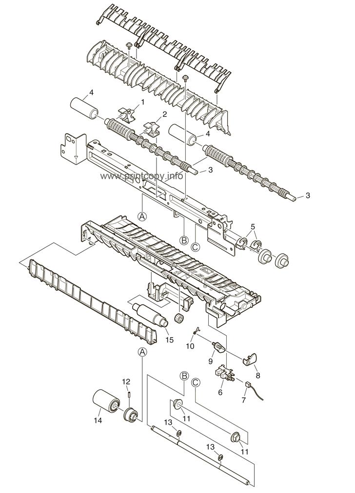 Parts Catalog > OKI > B431 > page 5