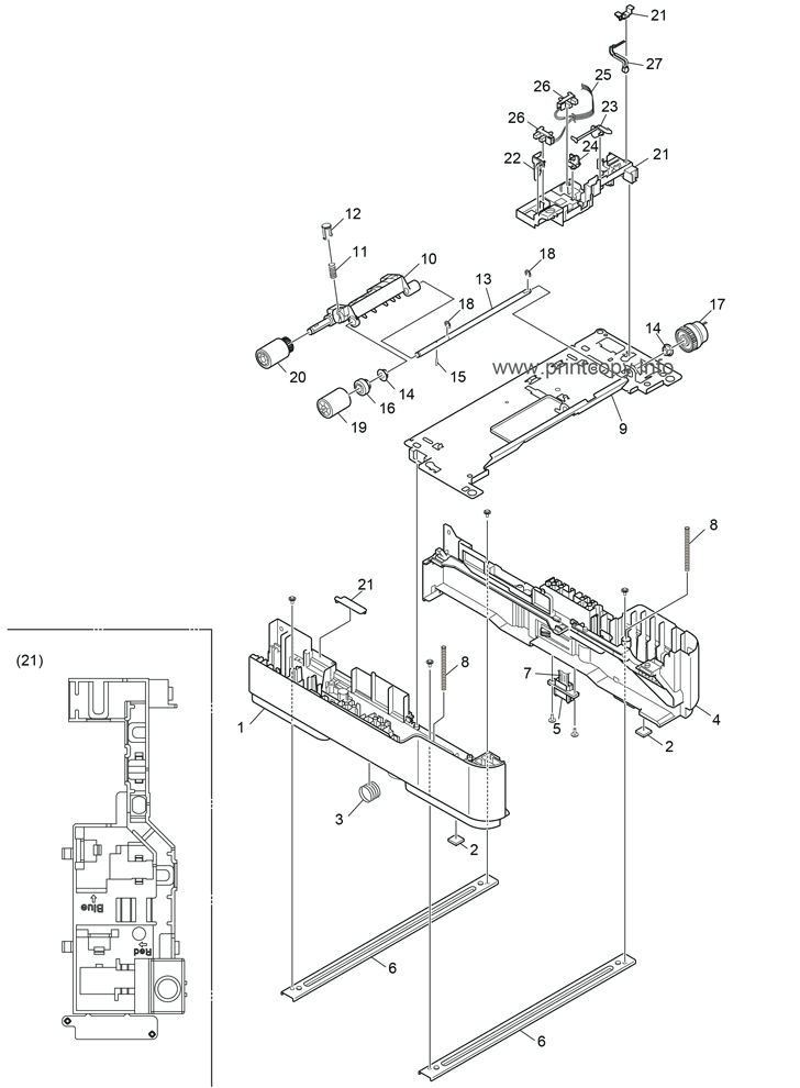 Parts Catalog Oki B430dn Page 2