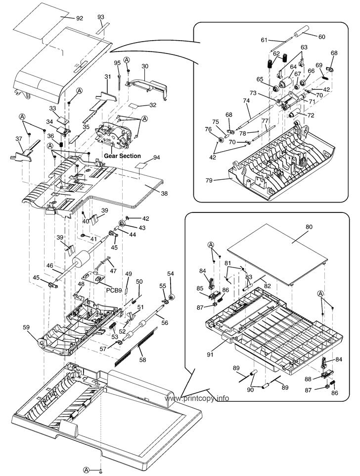 Parts Catalog Panasonic Kxmb2030ruw Page 2