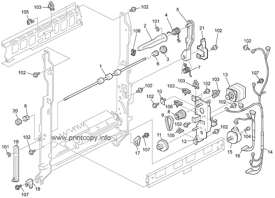 Parts Catalog Ricoh D183 Mp3053 Or C2 Page 24