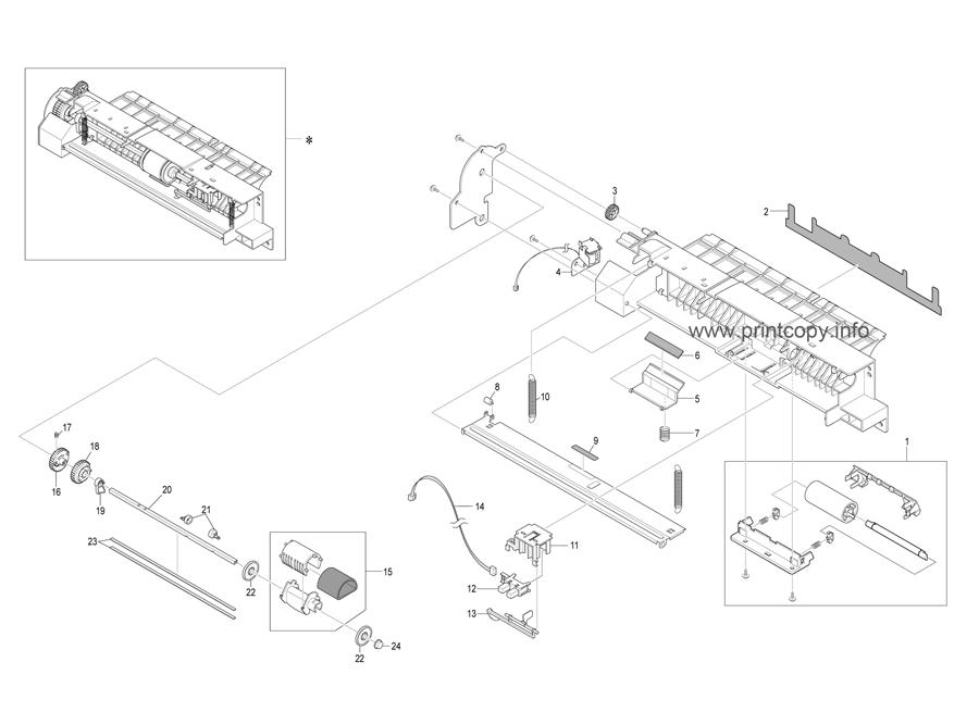 Parts Catalog Ricoh Aficio Sp3200sf Page 9