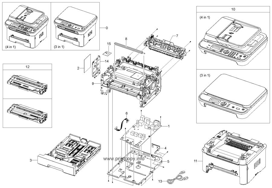 parts catalog u003e samsung u003e scx4623f u003e page 1 rh printcopy info samsung scx-4623f manual service samsung scx 4623f manual pdf