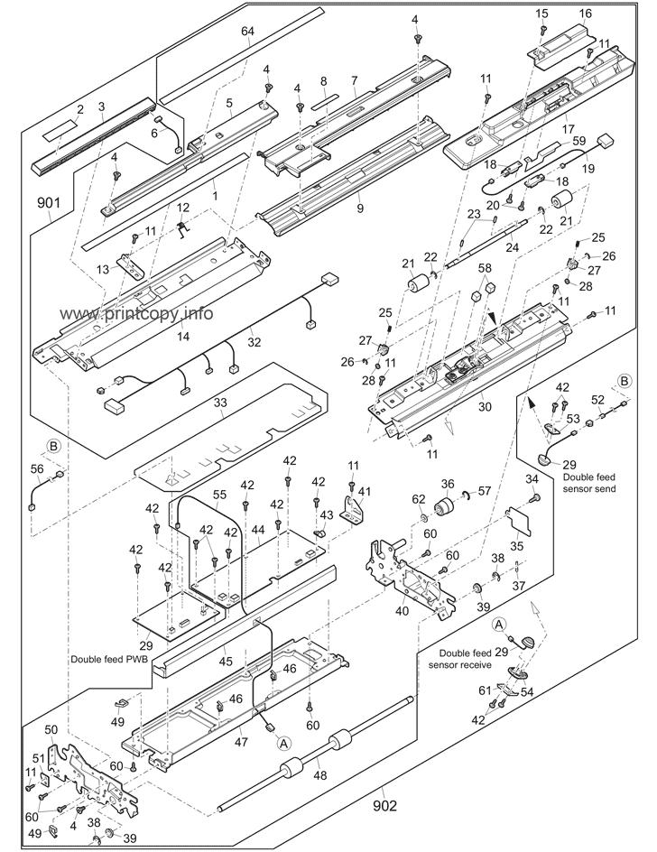 Parts Catalog Toshiba E Studio 1057 Page 31