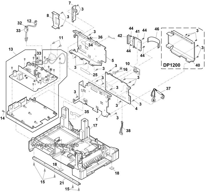 Parts Catalog Toshiba Dp1500 Page 12
