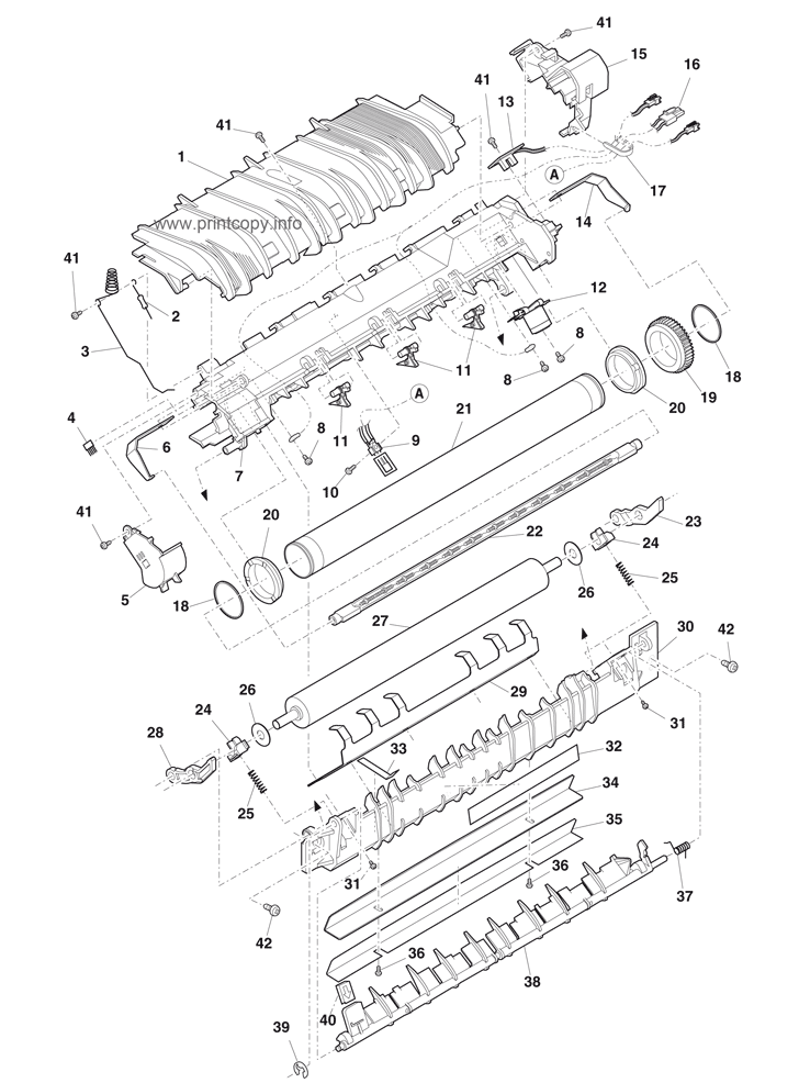 Parts Catalog Toshiba Dp1210 Page 11