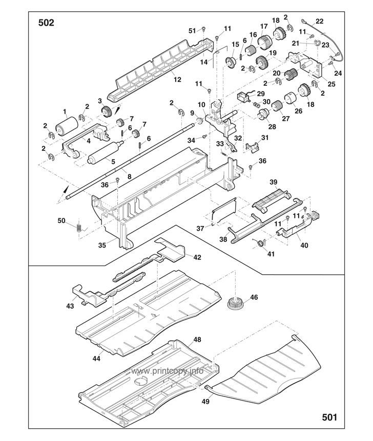 Parts Catalog Toshiba E Studio 202s Page 13