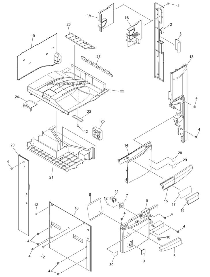 Parts Catalog > Toshiba > e-Studio 305 > page 1
