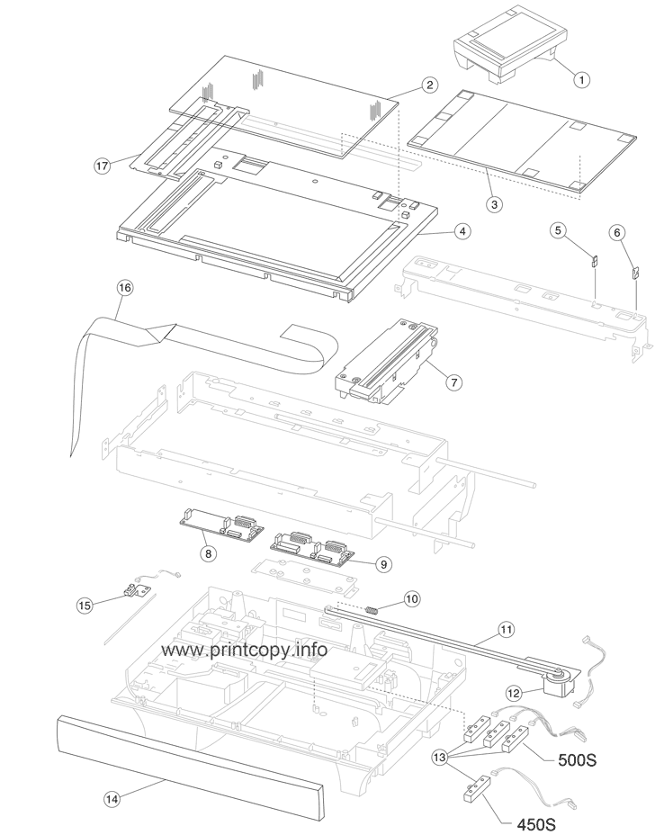 Parts Catalog Toshiba E Studio 450s Page 13