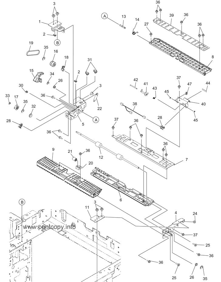 Parts Catalog Toshiba E Studio 6520c Page 20