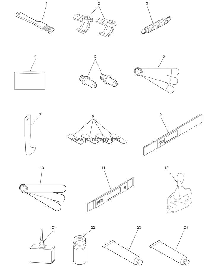 Parts Catalog Toshiba E Studio 6530c Page 85