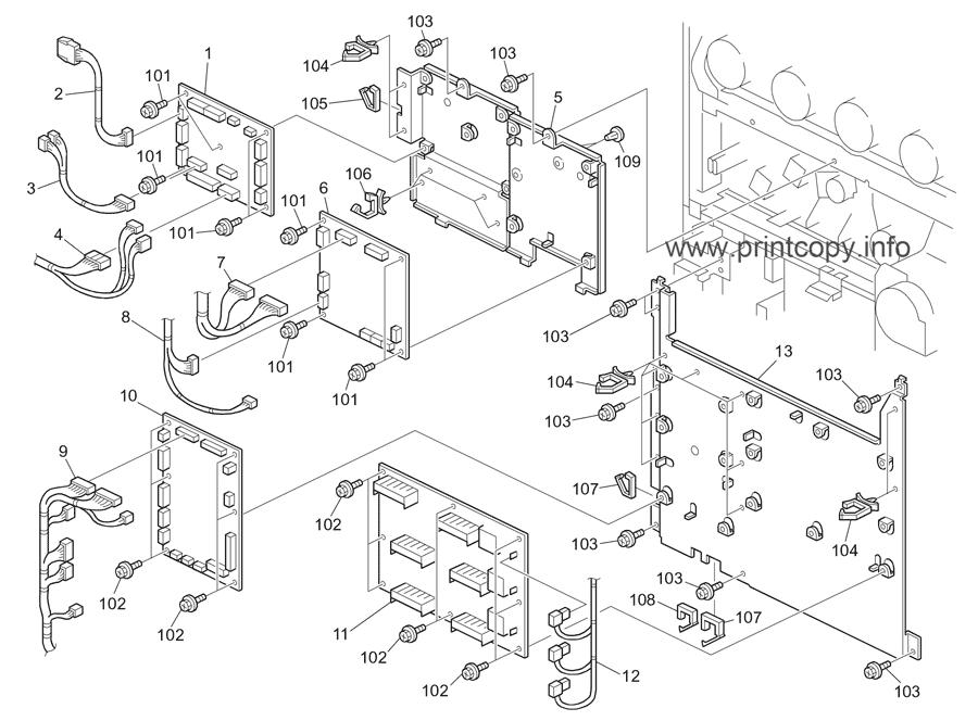 Parts Catalog Toshiba E Studio 7030c Pro Page 74