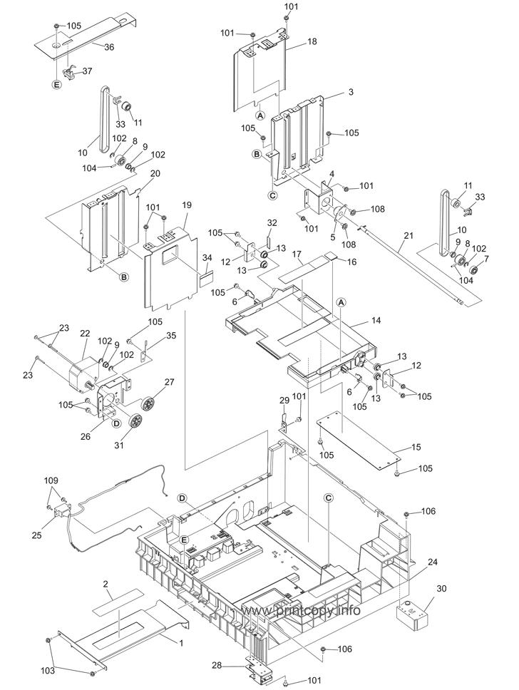 Parts Catalog \u003e Toshiba E Studio 557 Page 9 Lcf Chevy Street Rod Diagram: 18 W Cfl Circuit Diagram At Johnprice.co