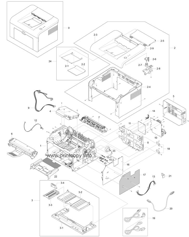 Mea Unit-Cover Mp Xerox