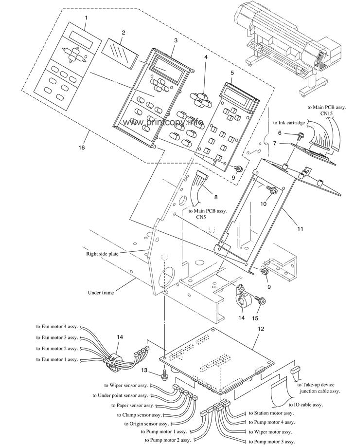 Keyboard Schematic Diagram