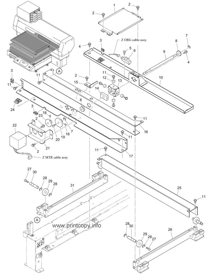 Parts Catalog Mimaki Ujf3042hg Page 11